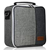 Insulated Lunch Bag for kids,boys & girls.This Waterproof Lunch Bags for men & women,convenient Tote adult lunch box for Diet Management by KELLM (Gray).