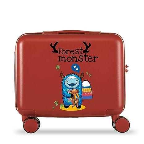 Amazon.com: Maleta para niños con diseño de dibujos animados ...