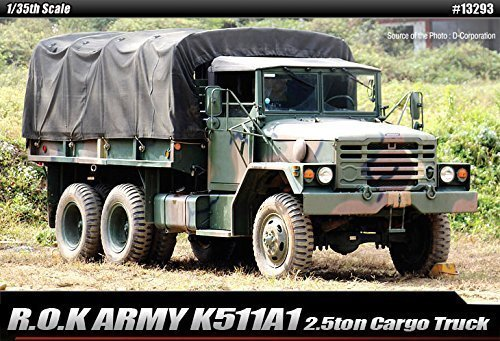 1/35 R.O.K. ARMY K511A1 2.5ton Cargo Truck Academy ()