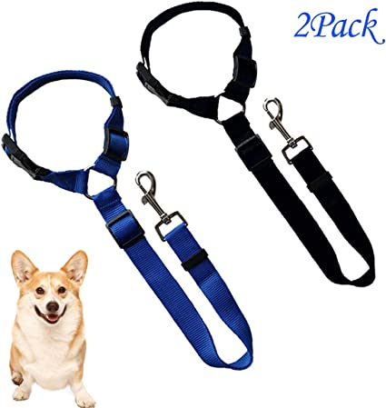Jazooli Bunty Dog//Cat Safety Travel Seat Belt Restraint Harness Clip For Car Van Lead