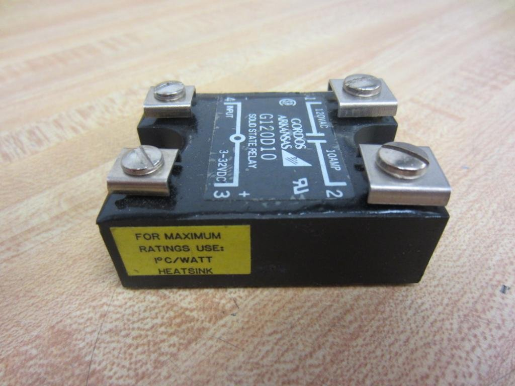 Solid State Relay Gordos G120d10 Electronic Relays Industrial Scientific