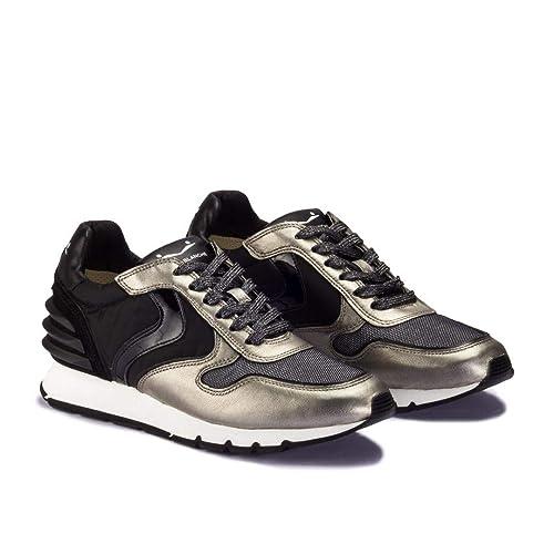 Voile Blanche Julia Power Negro/Dorado - Zapatillas Mujer - Negro, 37: Amazon.es: Zapatos y complementos