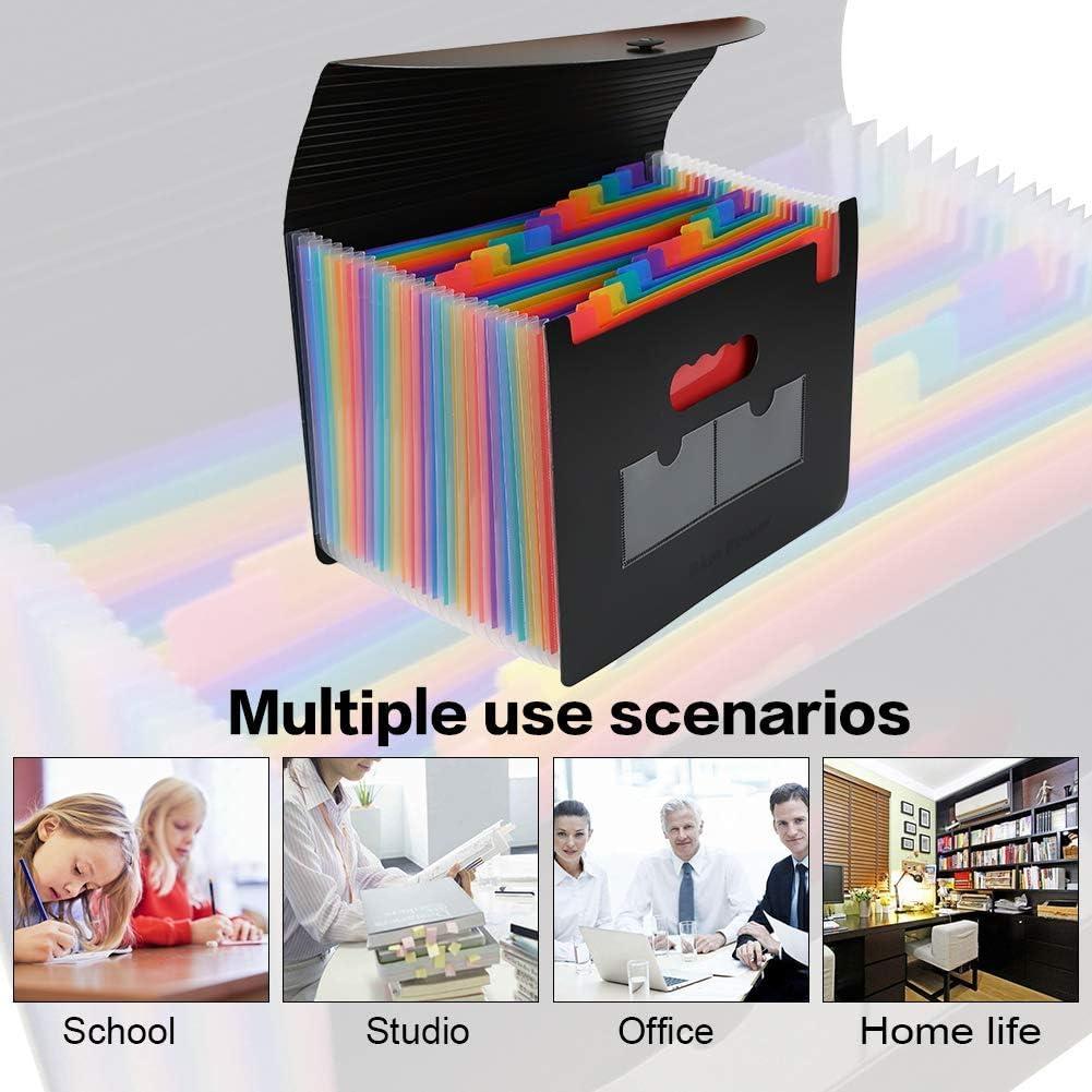 per scuola Cartellina in cartone extra resistente 13 pezzi o colori in confezione Brunnen lavoro ufficio e casa confezione grande