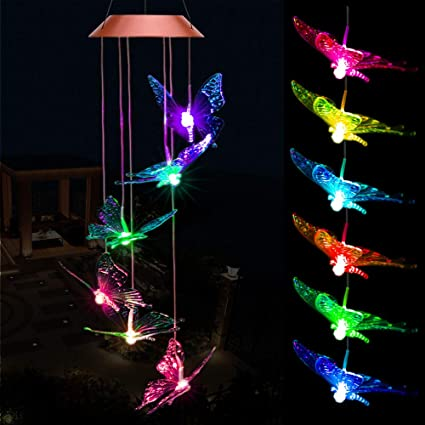 Amazon.com: Solar erfly Wind Chimes, Outdoor Waterproof Mobile ... on mobile home add ons, mobile home dogs, house with a lot of lights, mobile home books, mobile home cottages, mobile home flowers, mobile home paradise, mobile home christmas decorations, mobile home church, mobile home yellow, mobile home christmas vacation, mobile home comedy, mobile home flash, mobile home family, mobile home lamps, mobile home decorated outside for christmas, mobile home mirrors, mobile home tools, mobile home concrete, mobile home photography,