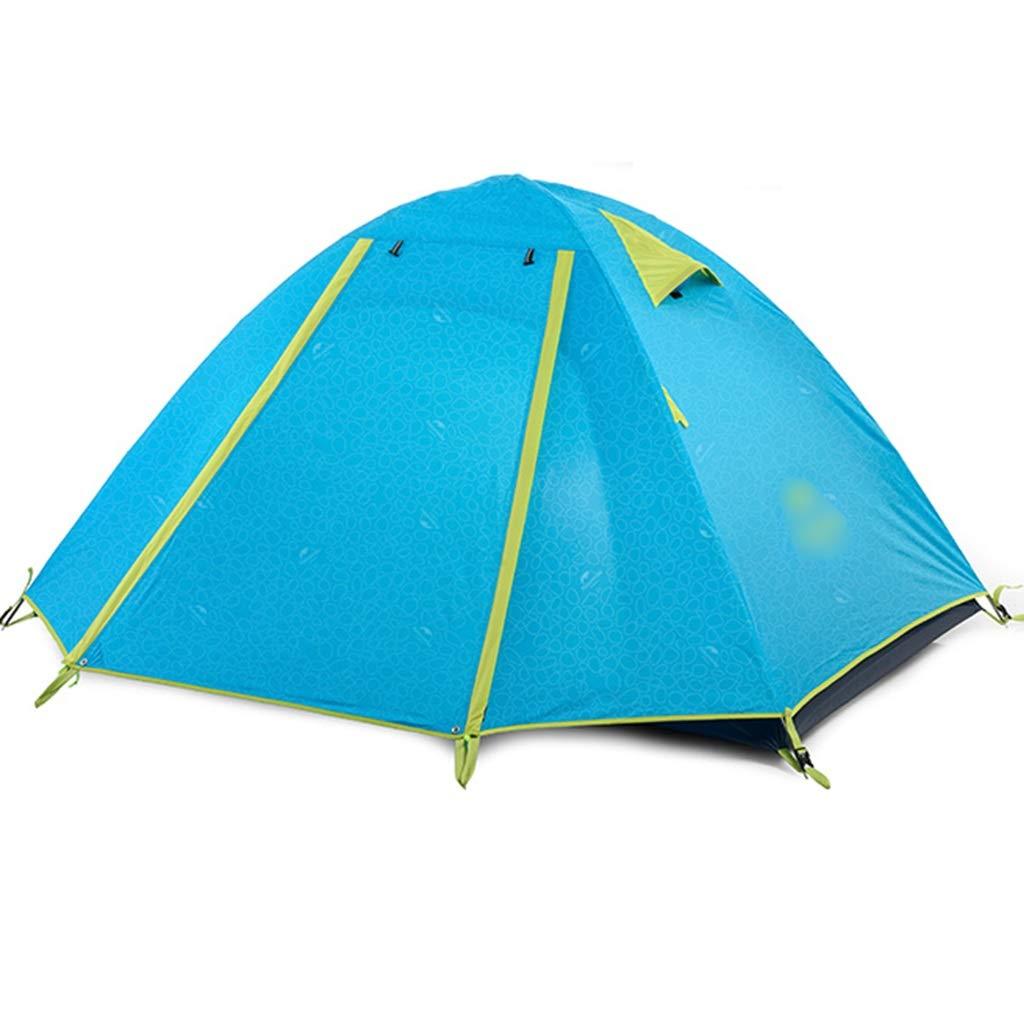 YaNanHome Doppeltes Starkes Zelt des Zeltes im Freien regendicht 2 2 regendicht Leute, die Zelt kampieren, Wandern Zelt Multi-Farbe wahlweise freigestellt (Farbe   Grün, Größe   205  160  110cm) 186061