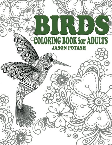 Amazon.com: Birds Coloring Book For Adults (The Stress Relieving ...