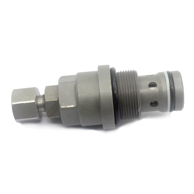 9200504 Pressure Relief Spillover Valve - SINOCMP 9200504 Main Pressure Relief Spillover Valve for Hitachi ZAXIS190W-3 Relief Valve Parts, 3 Month Warranty