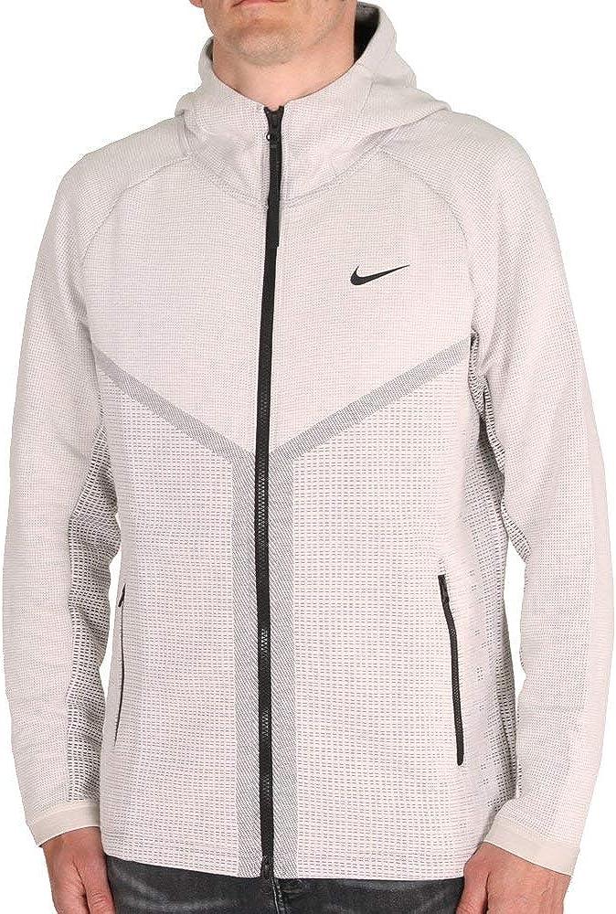 recuperación techo Polinizar  Amazon.com: Nike Sportswear Tech Pack Windrunner Men's Full-Zip Hoodie  CJ5147-072 Size S: Clothing
