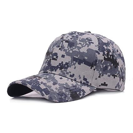 WeiMay camuflaje gorra de béisbol cadete ejército gorras lavado algodón ejército militar capo camuflaje mdY5z4Mxs