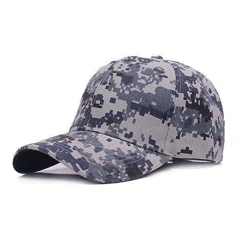 Demarkt 1x Hombres Mujeres Camuflaje al Aire Libre Sports Cap Gorra de Béisbol  Ejército Caza Visera 4ebcc5f8a38
