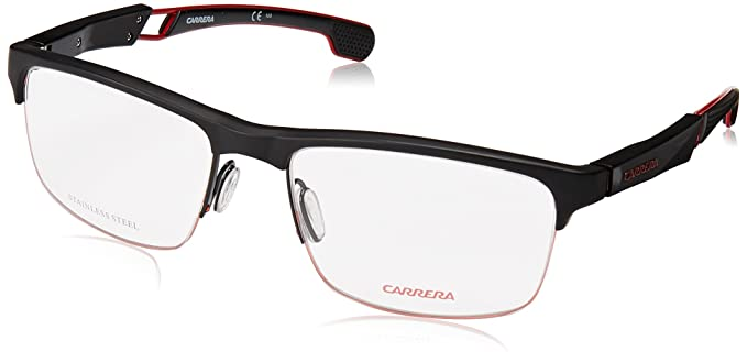 88e450705 Amazon.com: Carrera frame (4403-V 003) Acetate Matt Black - Matt Red ...