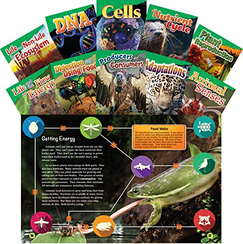 (Teacher Created Materials - Science Readers: Content and Literacy: Let's Explore Life Science - 10 Book Set - Grades 4-5)