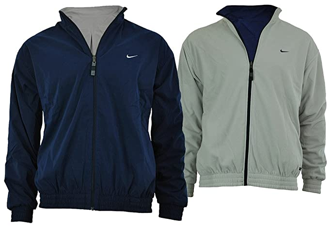 256c5fe522 Image Unavailable. Image not available for. Colour  Nike Golf Reversible  Jacket Therma Fit Men s Windbreaker Winter Fleec Jacket Size ...