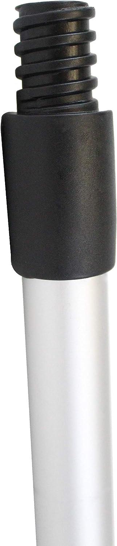 ausziehbar AchidistviQ Teleskop-Spannvorhang wei/ß 40-75cm f/ür Fenster Duschstange