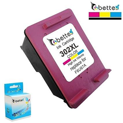 Cartuchos de impresora compatible para HP 302 XL 302 x l (1 x ...