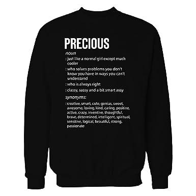 Amazon precious name meaning xmas birthday gift sweatshirt inked creatively precious name meaning xmas birthday gift sweatshirt black s negle Choice Image