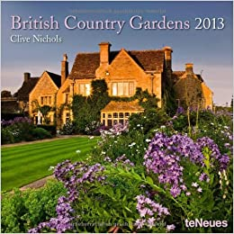 2013 British Country Gardens Mini Wall Calendar