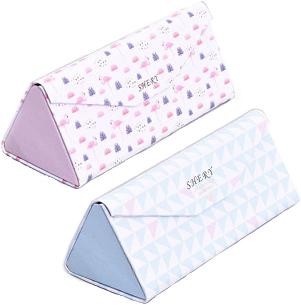 Foldable Glasses Case 2PACK...