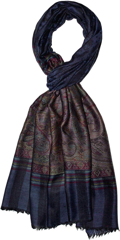 LORENZO CANA Luxus Pashmina Schal Schaltuch 100/% Kaschmir Kaschmirschal Kaschmirtuch Damenschal Gewebt Mehrfarbig
