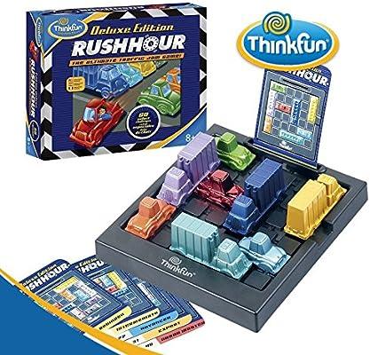 Think Fun - Rush Hour Deluxe, Juego de Mesa en español (TF5050 ...