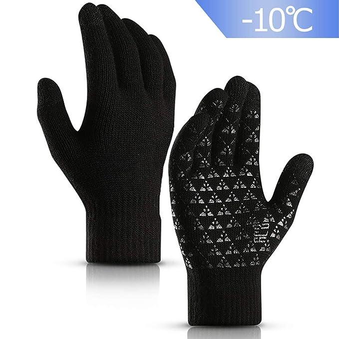 FakeFace Kinder Niedliche Handschuhe mit Touchscreen Funktion Winter Warme Damenhandschuhe Smartphone Touch Gloves