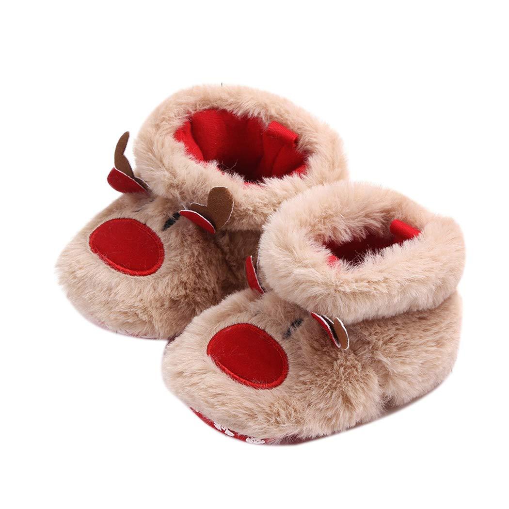 3ed09c459 Amazon.com   Christmas Baby Shoes