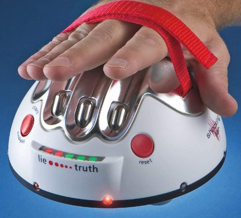 Electric Shock Lie Detector Shocking Liar Detection Party Game Reloaded