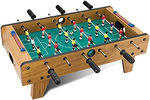 Mesa de futbolín de mesa portátil Mini Futbolín Juego de fútbol ...