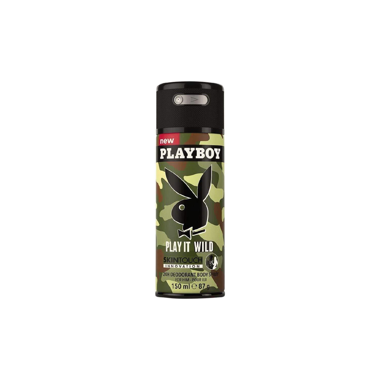 Playboy Play It Wild By Playboy Skin Touch Body Spray 5 Oz
