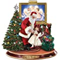 Dona Gelsinger May I Have This Dance Sculpture Featuring Dancing Santa Claus And Angel by The Bradford Exchange