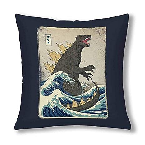 Amazon.com: Yuehen The Great Godzilla Off Kanagawa – Funda ...