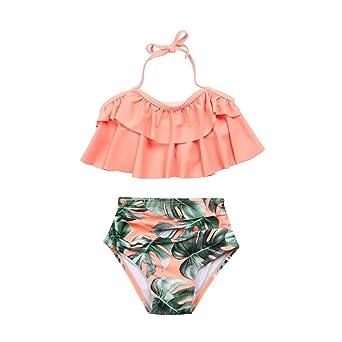 Bikini de 2 piezas con volantes Clearance de Kavitoz, traje ...