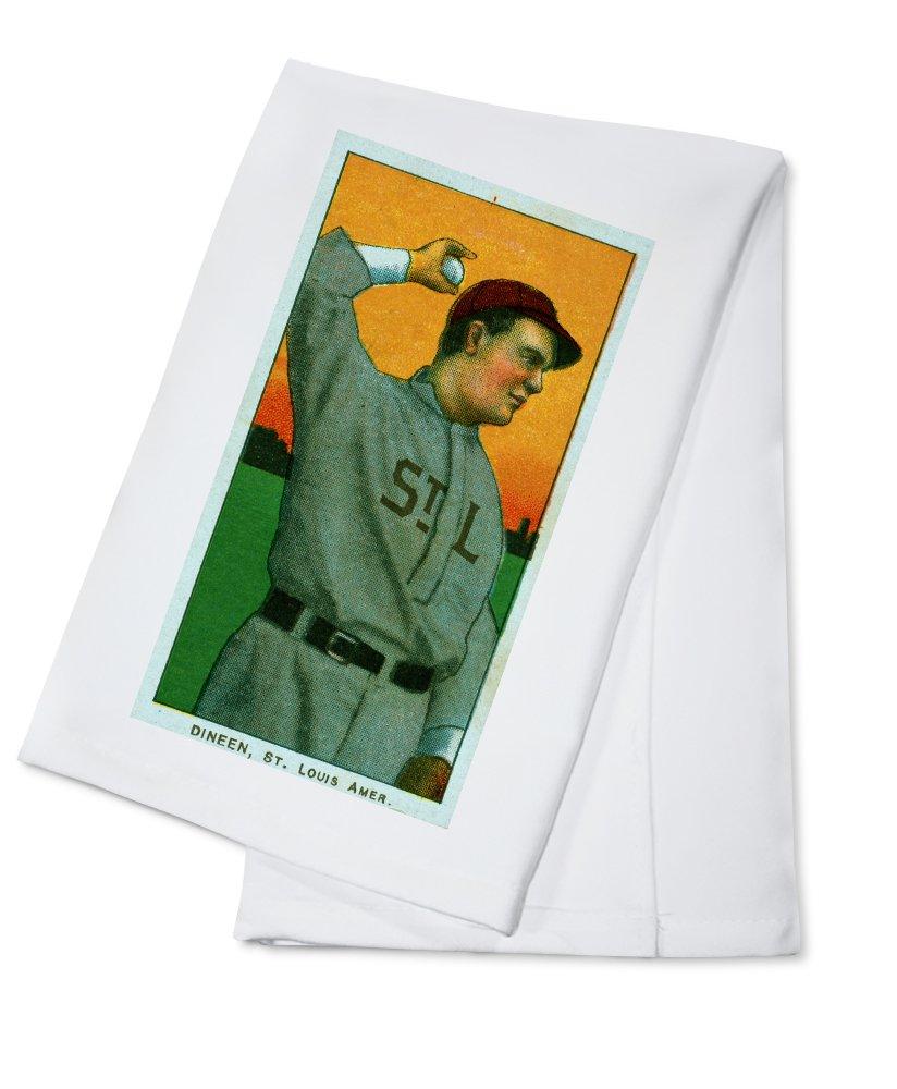 セントルイスBrowns – Dineen – 野球カード Cotton Towel LANT-23113-TL B0184BAO20  Cotton Towel