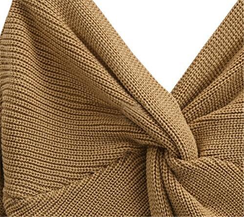 Sexy Haut Sweater Tricot Femme AILIENT 7YXq8p