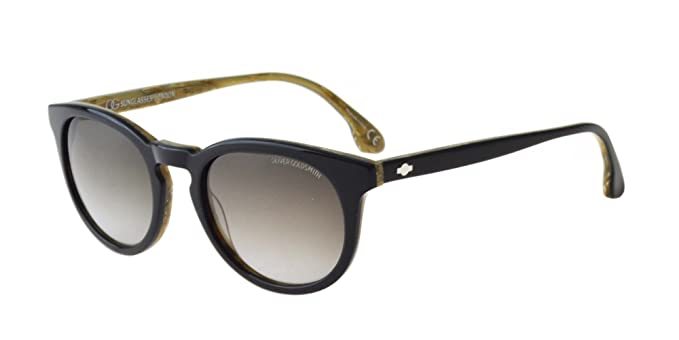 7c0a0b84bf4f Amazon.com: Oliver Goldsmith CARNABY BLACK WOOD/GREY SHADED 50/21 ...