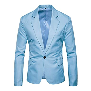 Amazon.com: Oyamihin Office Gentlemen Business Style - Traje ...
