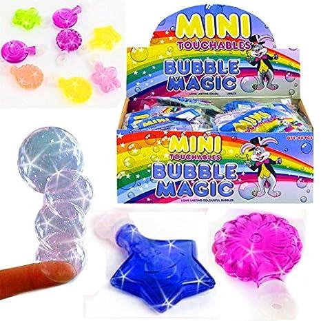 24 Seifenblasen Schwert Stab 37cm Bubble Spielzeug für Draußen Outdoor Mitgebsel Spielzeug