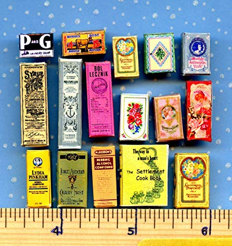 Dollhouse & Miniature Dolls' Houses Miniature 1:12 and 1:24 Scale Victorian Visual Bargain Grab Bag Sales Lot Welcome to Minimum World (Sale Victorian Garden For Furniture)
