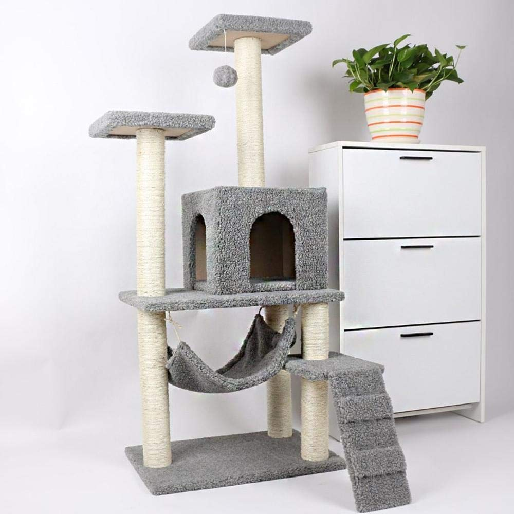 Weiwei Cat Climb Frame cat nest cat Tree cat Jumping Platform for Sleeping Games 37cm 32cm  32cm