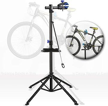 Crystals® - Soporte de reparación de Bicicletas (Ajustable ...