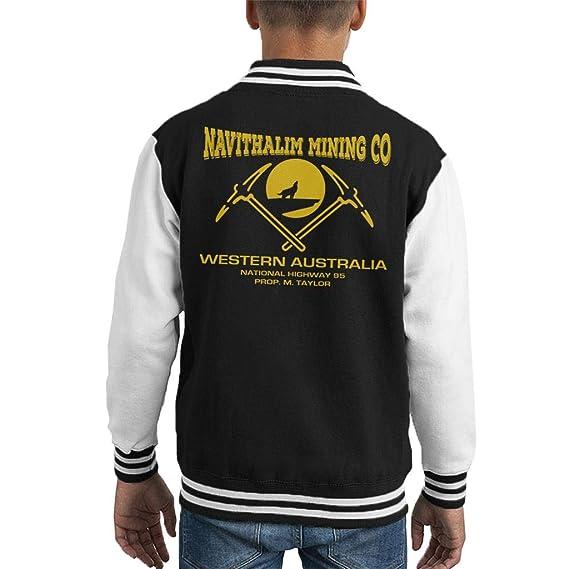 Navithalim Mining Co Wolf Creek Kids Varsity Jacket: Amazon.es: Ropa y accesorios