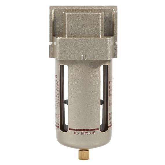 Filtro de Aire Comprimido 1/2 Compresor Separador de Trampa de Humedad de Agua Filtro de Partículas de Aire Accesorios de Regulador: Amazon.es: Hogar
