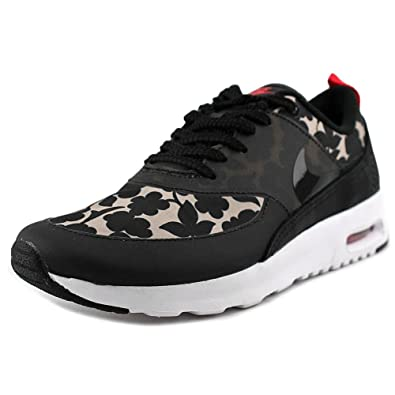 newest c6efe f30f2 Nike Womens WMNS Air Max Thea LIB QS Vachetta Tan Black-Light Crimson  Leather