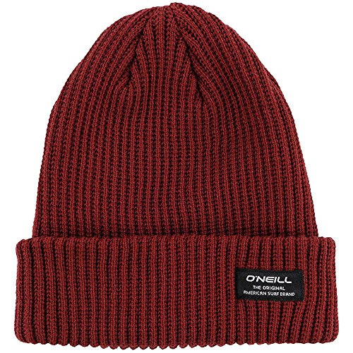 (O'Neill Guys' Biggs Beanie Red/Russet Brown-RST OneSize)