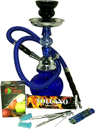 Pack Cachimba + carbón + tabaco + 2 boquillas + mechero (Pack ...