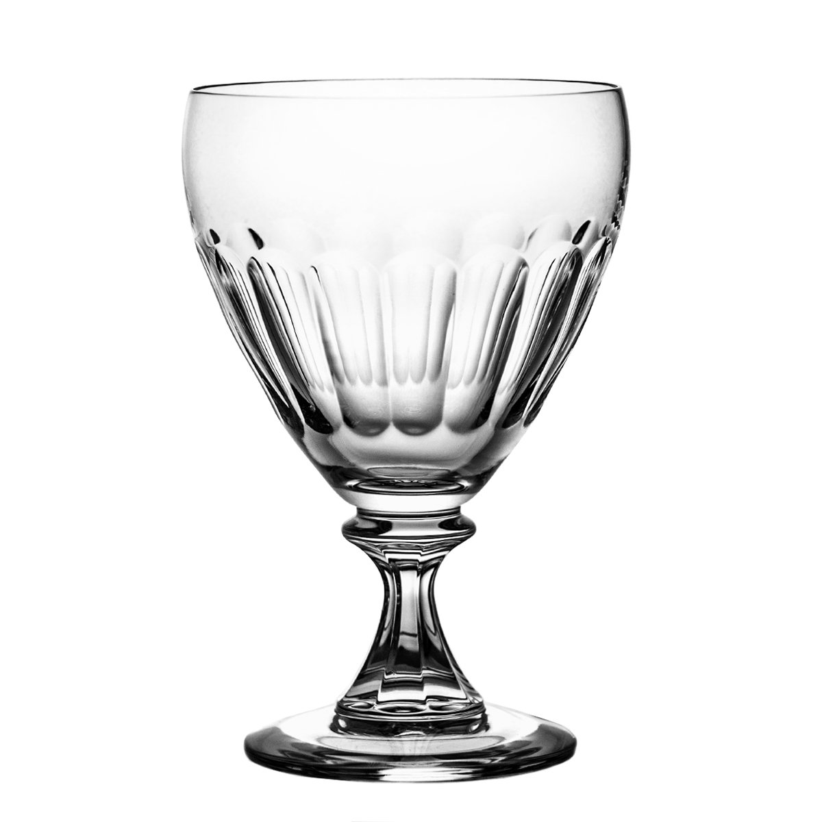 Pack of Aljulia 4243265ml Water Glass, Crystal, 6Units