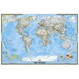 World Classic, poster size, tubed : Wall Maps World (National Geographic Reference Map)