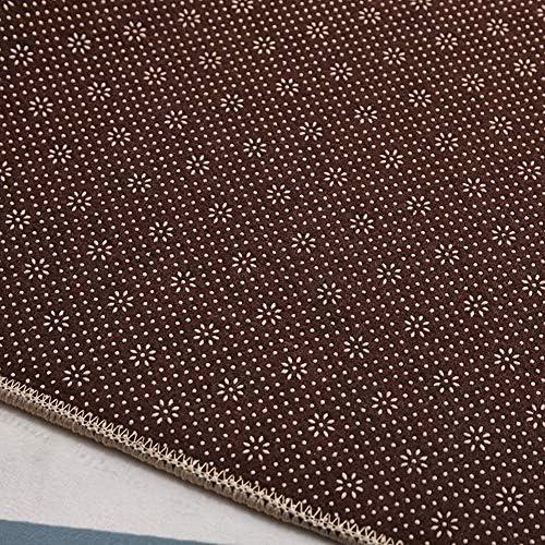 YANZHEN ランナー カーペッ 廊下ランナーカーペッ カット可能 ノイズ減少 お手入れが簡単 ドアマット 防湿 耐摩耗性 混紡繊維、 カスタムサイズ (Color : Black, Size : 80×120cm)