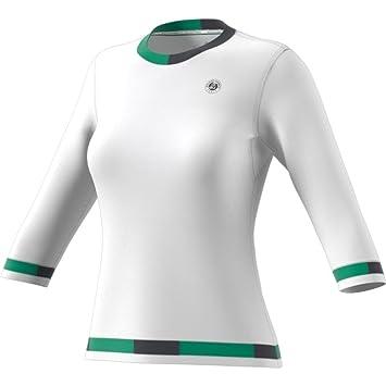 431670d5dcf4 adidas Roland Garros 3 4 nbsp Women s Tennis Shirt