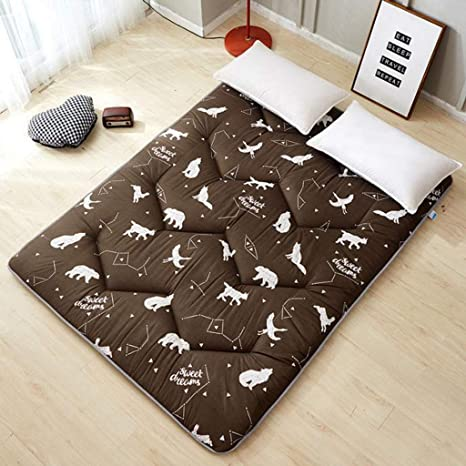Amazon.com: MOSU - Colchón de futón japonés plegable ...